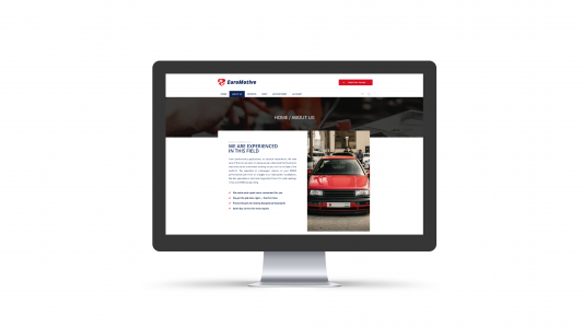 Euromotive About Us Page
